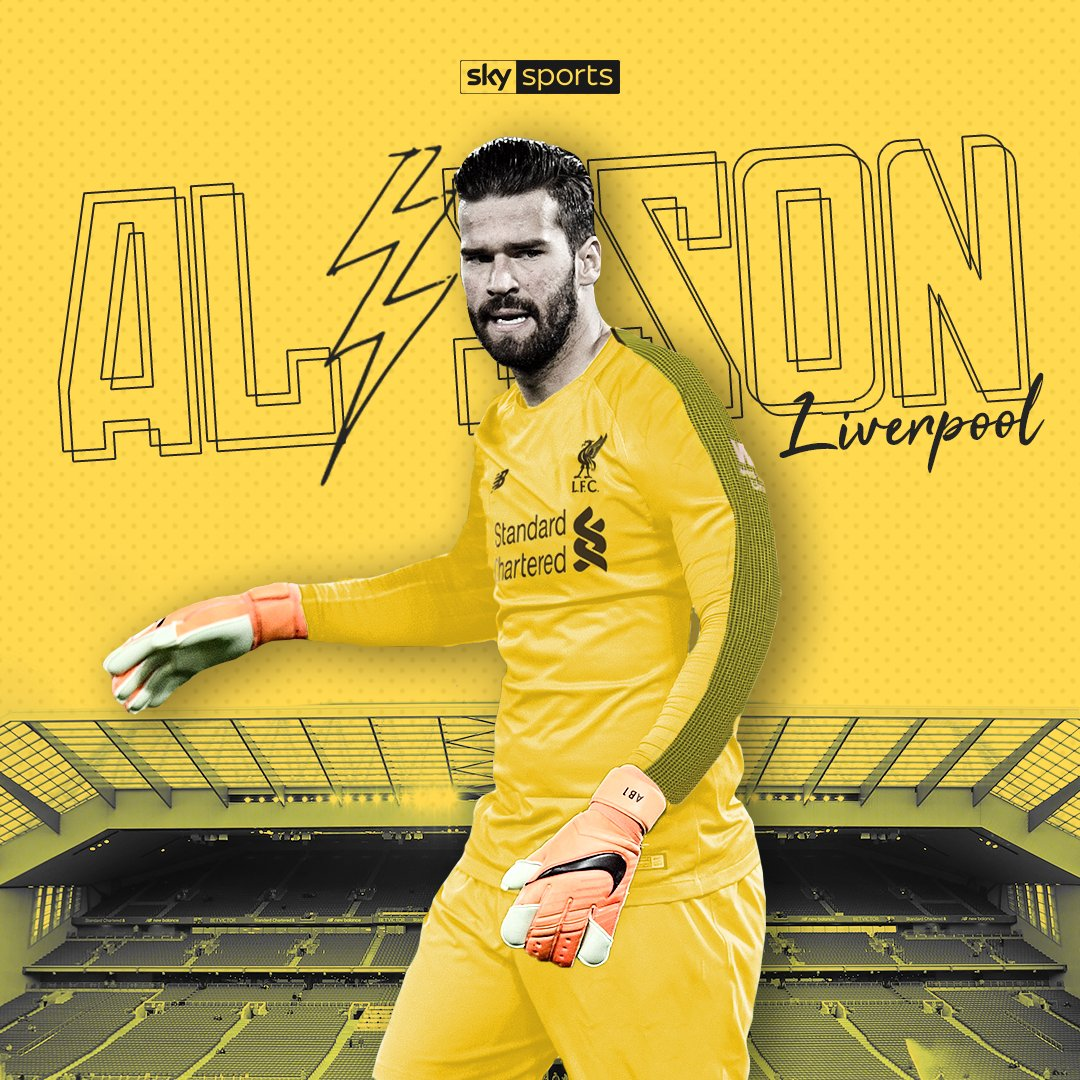 🔴 CONFIRMED 🔴 Liverpool have signed goalkeeper Alisson from Roma for a world record fee for a goalkeeper. Follow: skysports.tv/pJWkoL