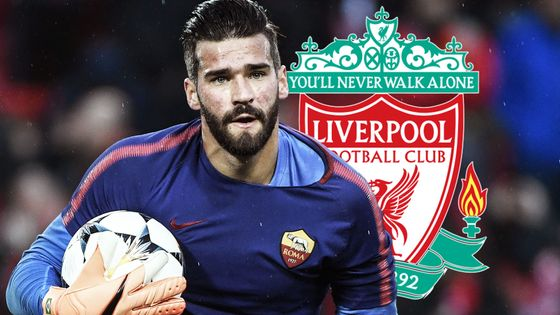 BREAKING: Liverpool have completed the signing of Alisson from Roma for £67m - a world-record for a goalkeeper #ssn https://t.co/hlK7CH3aFS
