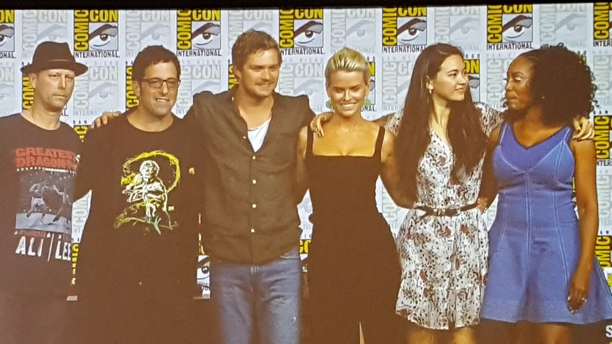Cast of Iron First Season 2 - SDCC 2018