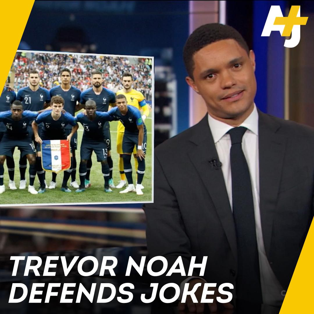 AJ+'s photo on Trevor Noah