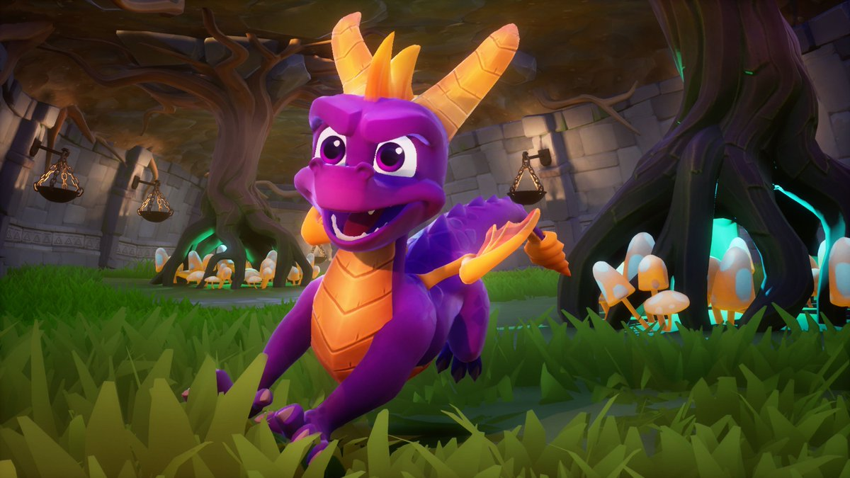 Spyro the Dragon trilogy remaster will include original and new soundtrack #SDCC2018 https://t.co/HDikveElkr