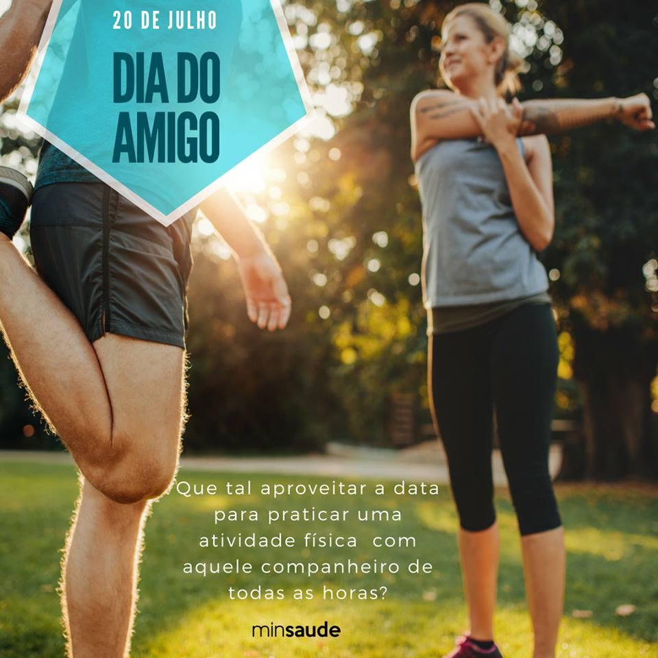Manter hábitos saudáveis é mais fácil com o incentivo de outras pessoas. Que tal aproveitar o Dia do Amigo para praticar alguma atividade física junto com aquele (a) companheiro (a) de todas as horas? #DiaDoAmigo