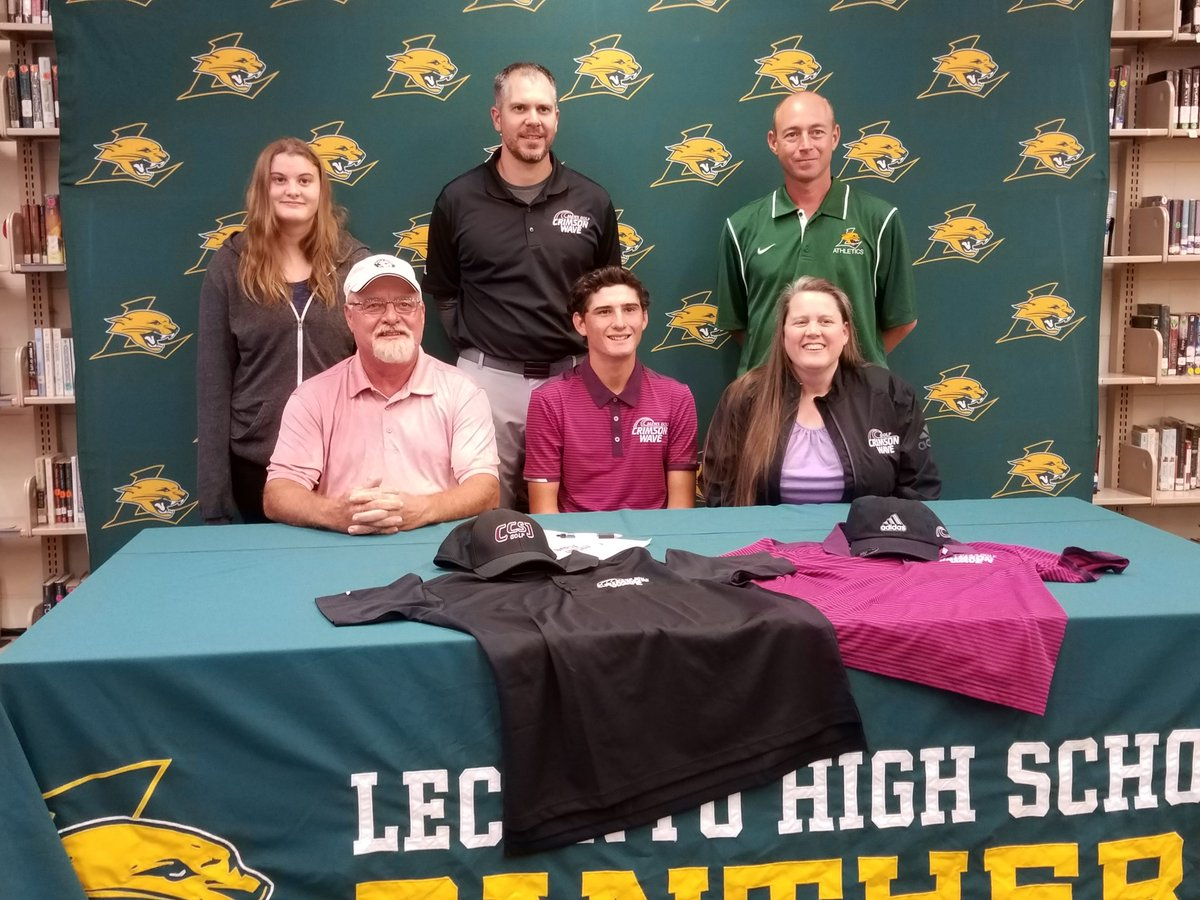 He'll have to venture far from home, but Lecanto grad Josh Wiseman will play golf on the college level after signing with Calumet College of St. Joseph in Whiting, Indiana. Story: http://bit.ly/2L61Csx