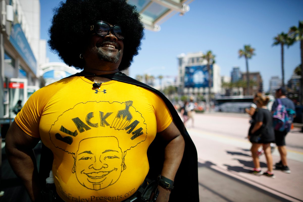 Costumed fans are out in full force at San Diego Comic-Con, one of the world's biggest annual pop culture events 👀