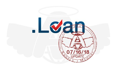 +610 .loan #domainNames added to the #DomainsList on 07/16/18  http:// angelsmemory.com/en/2018/07/16/ dot-loan-limited/loan?utm_source=Twitter&amp;utm_medium=Social%20Network&amp;utm_campaign=AGM%20specific%20Update%20&amp;_cb=1532054043 &nbsp; … <br>http://pic.twitter.com/cfANHtdg5t