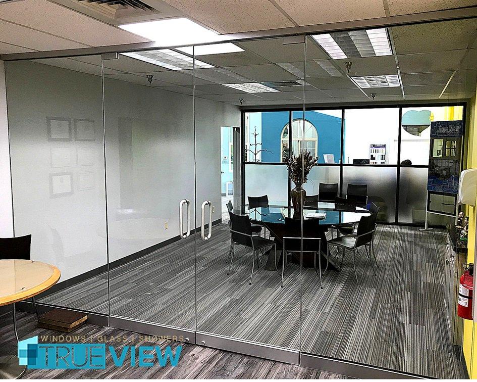 True View Windows On Twitter Trueviewwindowandgl Conferenceroom Envision All Gl Doors From Trulite Aluminum Solutions Utilizing ½