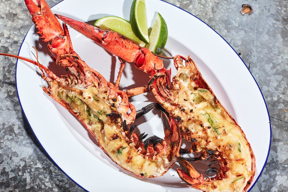 This grilled lobster with miso butter is quick, easy, and a nice lil' step up from your usual lobster preparation. https://t.co/zUyJ8QlLXN