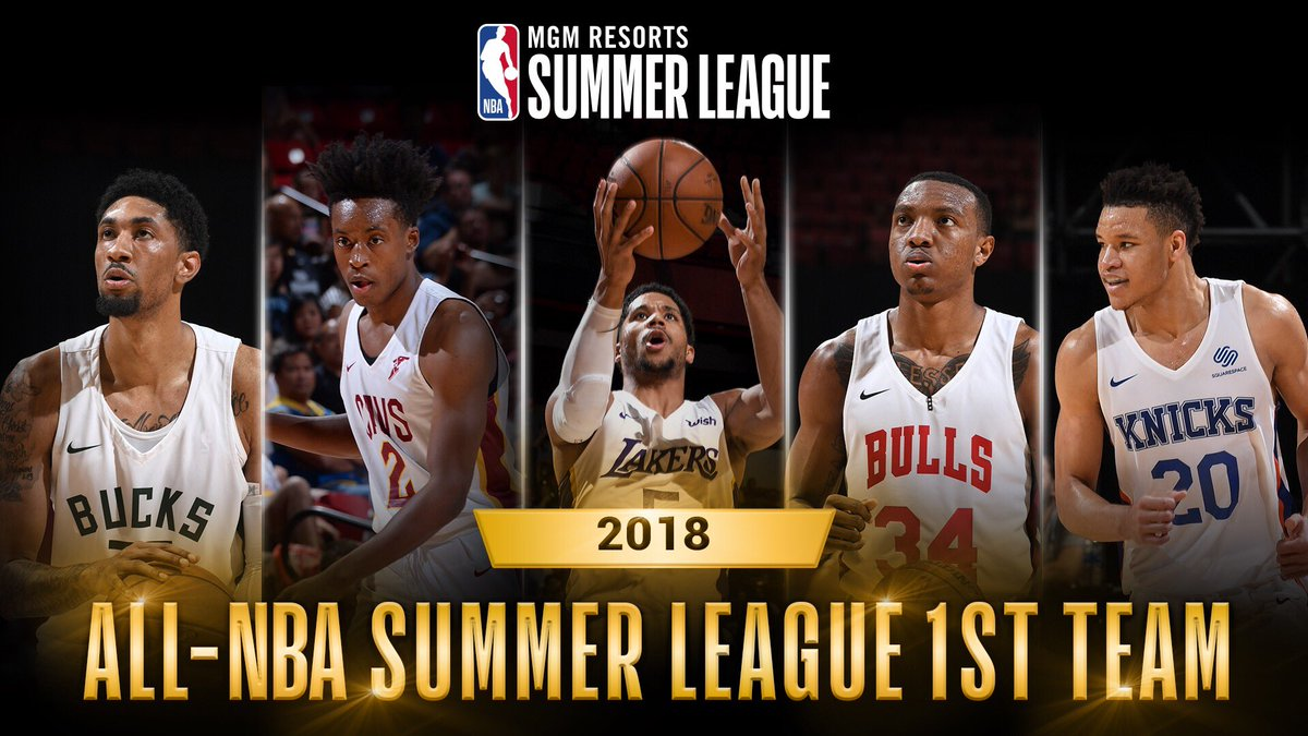 ICYMI - congrats to the All-NBA Summer League 1st and 2nd Teams!
