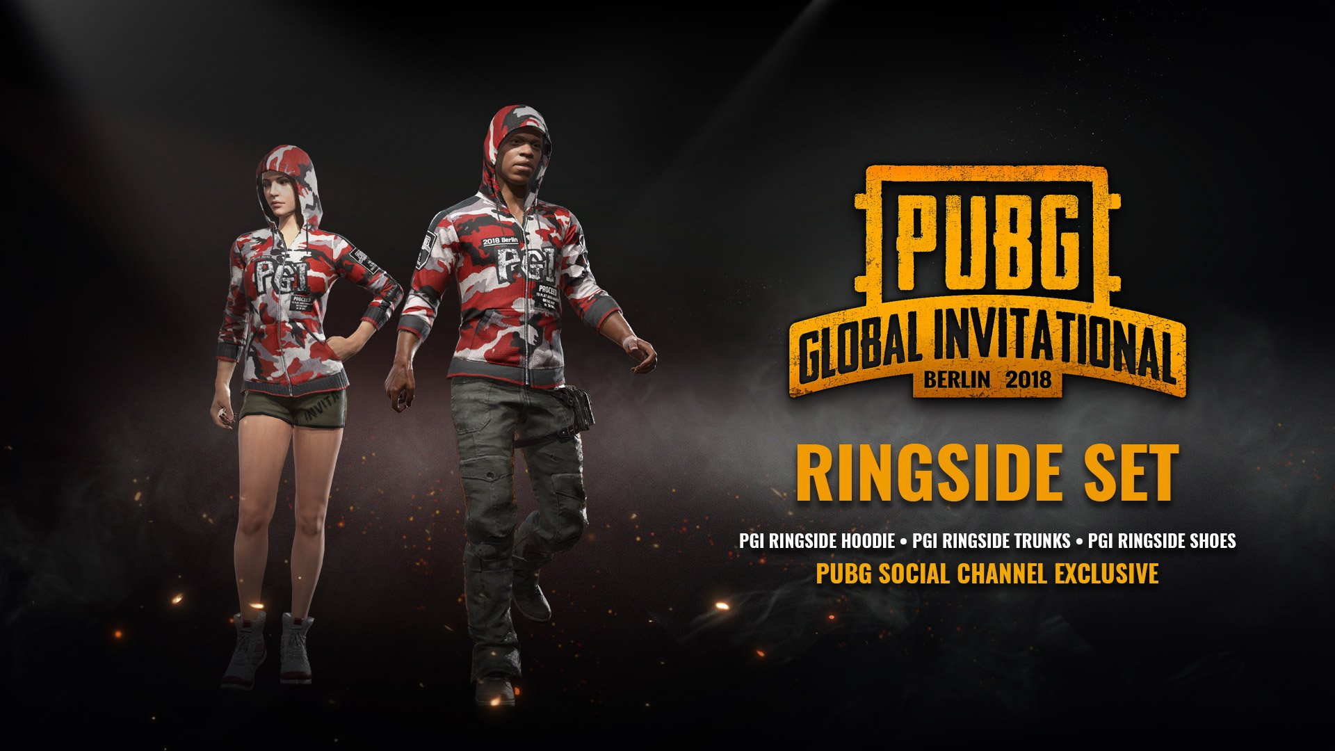pubg event poster