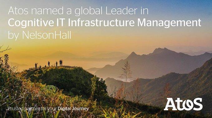 @NHInsight posiciona a Atos en su informe NEAT como líder en Cognitive IT Infrastructure...
