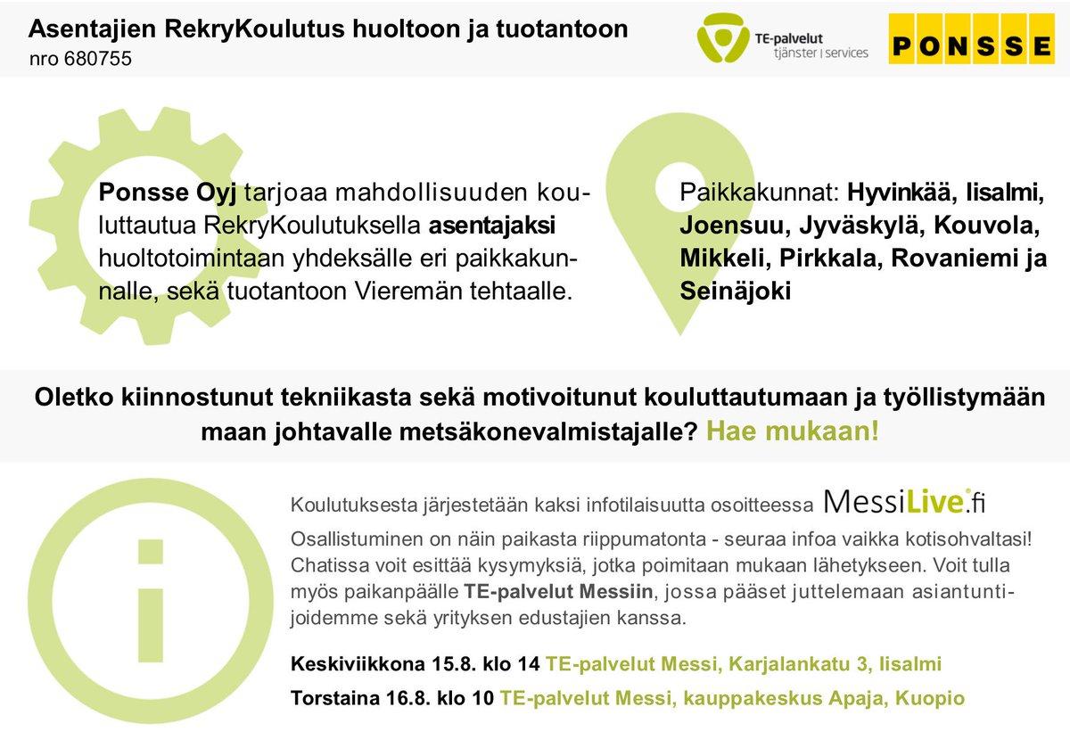 VMP TE-palveluiden kumppanina: Aidosti töihin!