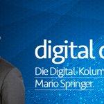 Image for the Tweet beginning: Wochenend-Lektüre! Unser CEO hat eine