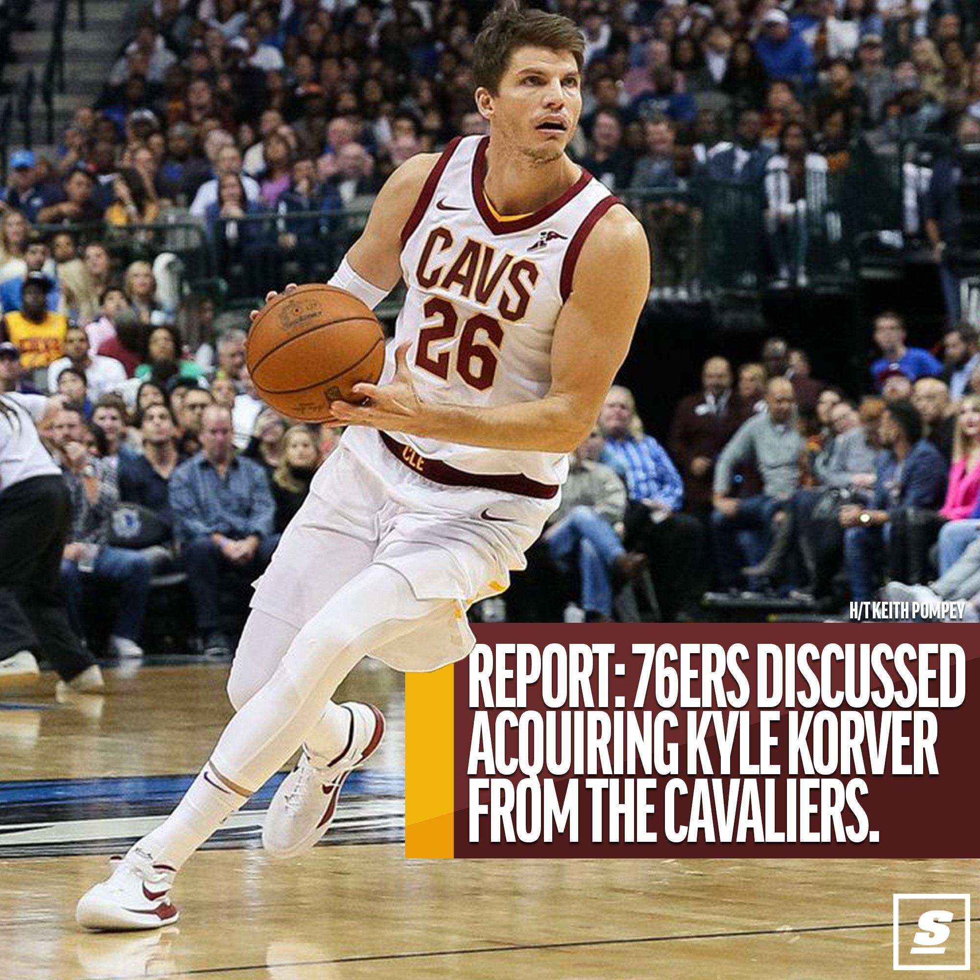 76ers bringing back Kyle Korver? https://t.co/2GMutYPvHa https://t.co/EFUKOgm0bx