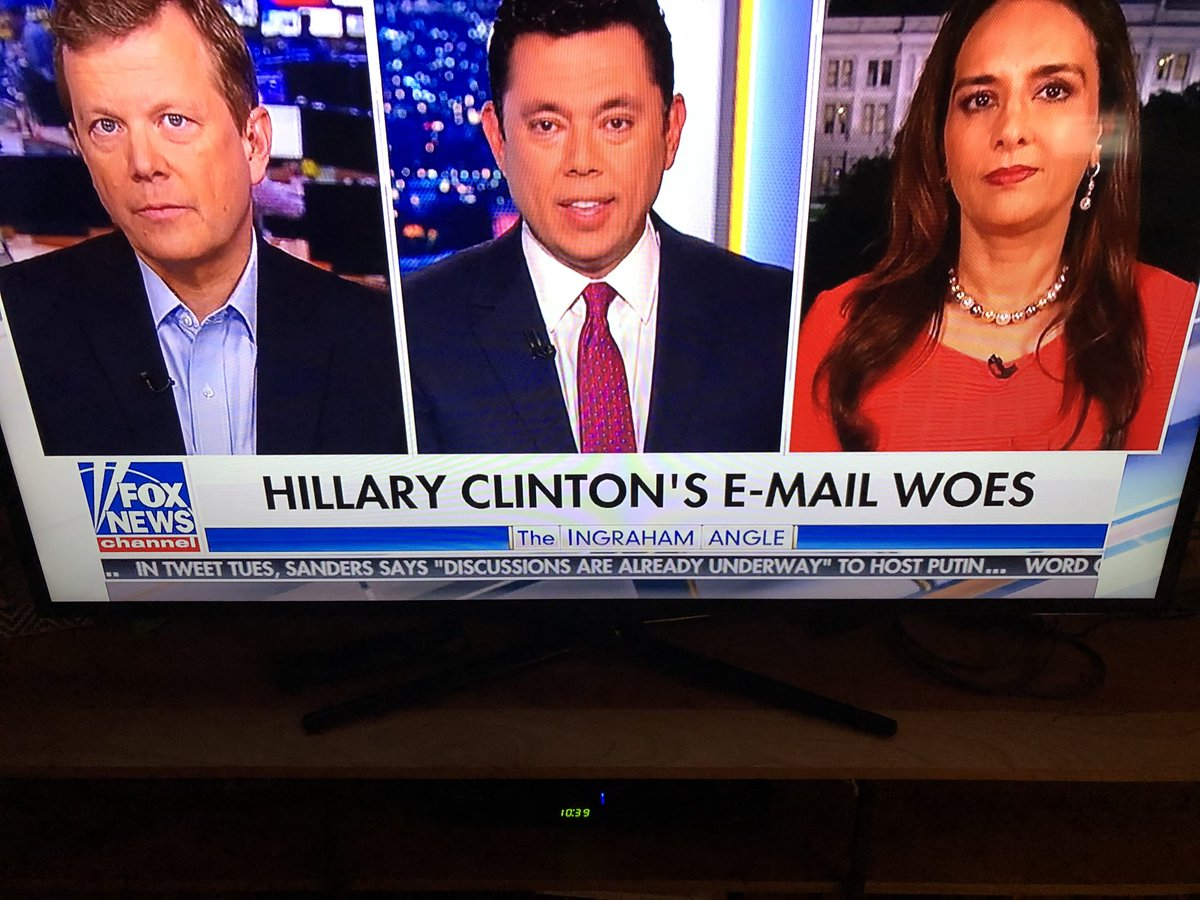 Imagine a meeting of Fox talk show producers. 'This has been one of the worst weeks of Trump's presidency. What should we do?' CUT TO: 'Hillary Clinton's e-email woes'