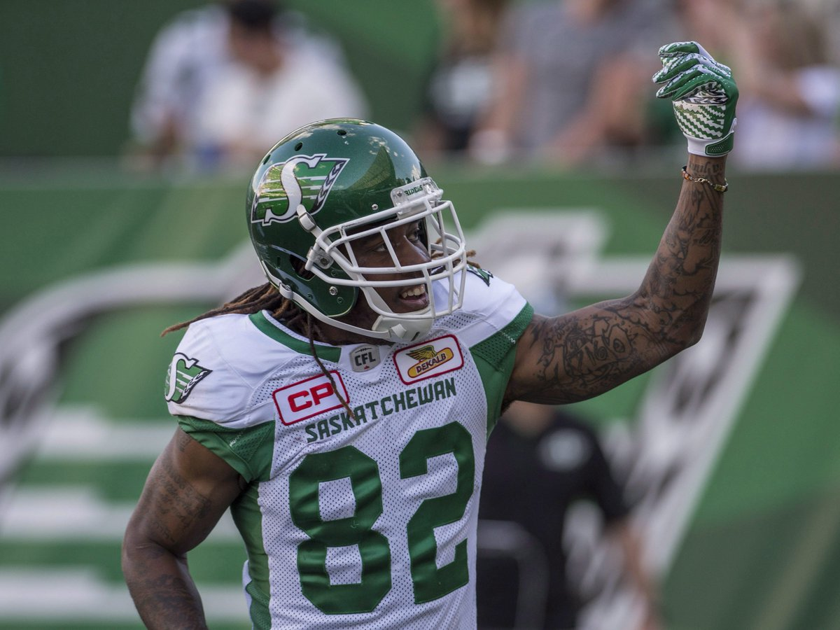 Roughriders' big second half downs Tiger-Cats on Thursday Night Football presented by @TheBrick. MORE: https://t.co/MDxdR4xrqp  #CFLGameDay #TNF