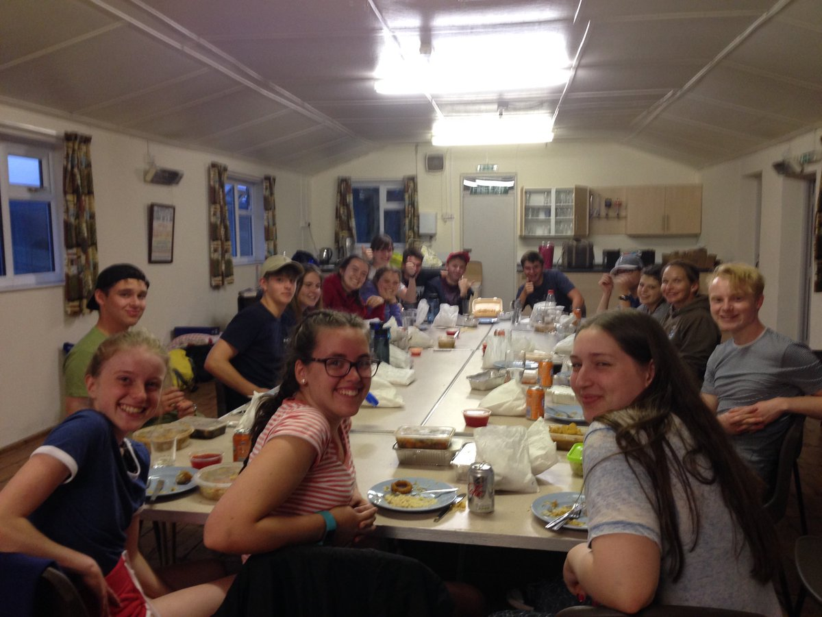 Silver D of E pupils in the Peak District. Their 3-day expedition starts today. #LshsEnrichment