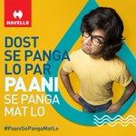 #PaaniSePangaMatLo Twitter Photo