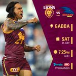 #AFLLionsCrows Twitter Photo