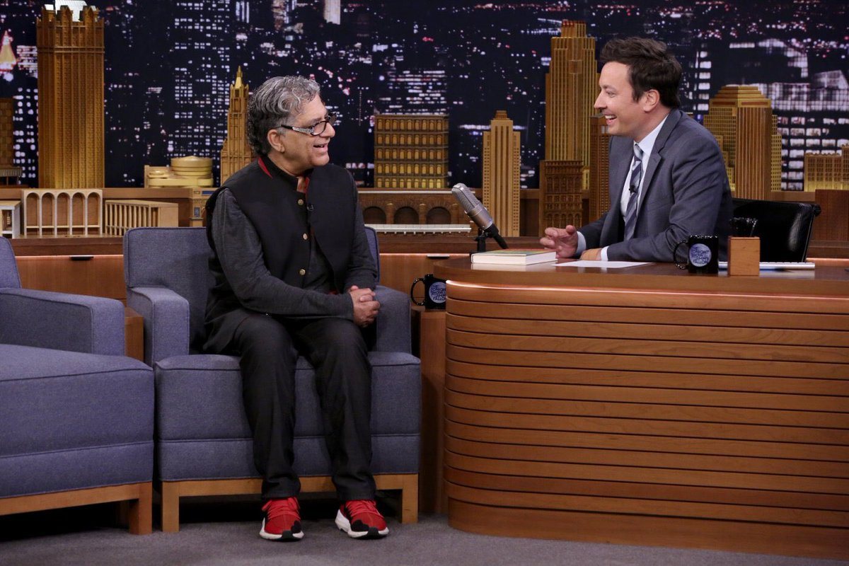 Thanks for having me on tonight @jimmyfallon Enjoyed our conversation and guided meditation on the @FallonTonight show. Photo credit: Andrew Lipovsky/@nbc #FallonTonight #TheHealingSelf #meditation #NewYorkCity #NewYork
