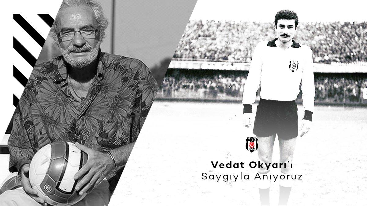 Efsane futbolcularımızdan Vedat Okyar'ı vefatının 9. yılında saygıyla ve rahmetle anıyoruz. #Beşiktaş