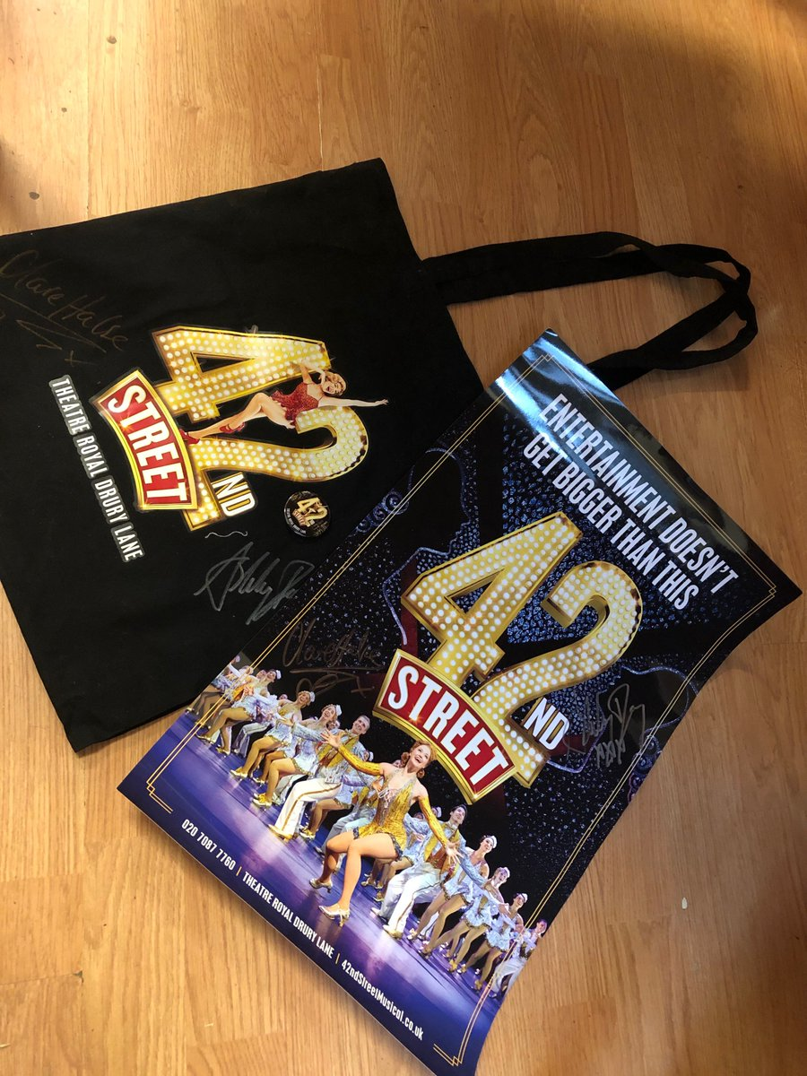 42nd Street Poster And Tote Bag Bitly 2mtUt6z Fanfrenzyfriday Theatrecafe Theatre London WestEnd 42ndStreet Win Competition