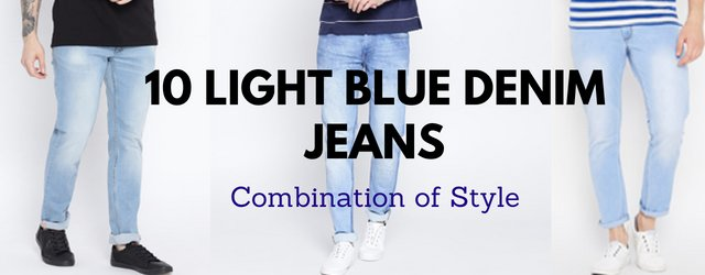 12e7df2082f Light Blue Denim Jeans Combination Style https   www.denimxp .com 10-best-light-blue-jeans-combination-outfit-for-men-in-2018  …