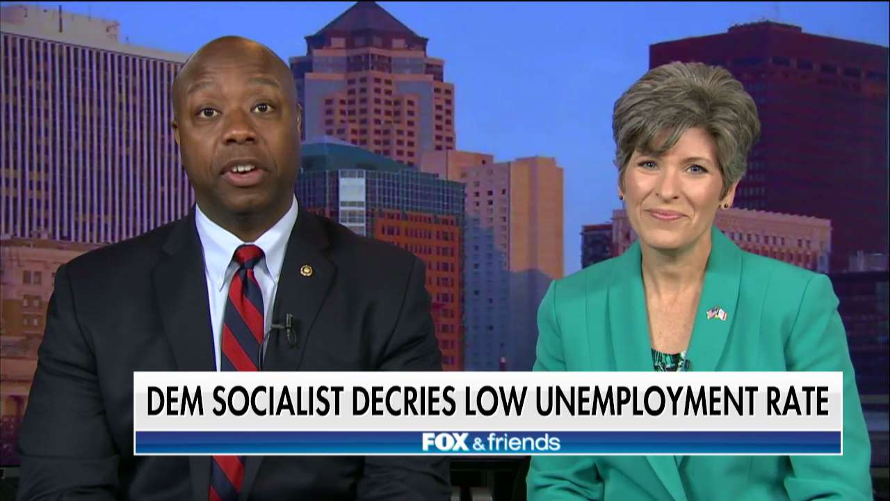 .@SenatorTimScott: 'Anyone who wants to attack the Trump economy must find a way to do it in theater.' https://t.co/WgZRn9T7Zi