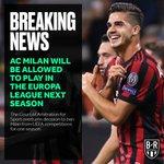 Milan AC Twitter Photo