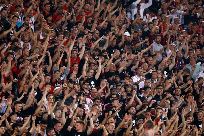 ✅ #ACMilan will play in the #EuropaLeague next season after their ban from UEFA competitions was overturned Photo