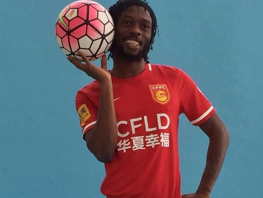 GERV OUT😢  Gervinho has been demoted to the reserves at Hebei China Fortune after club signed #Morocco's El Kaabi.  Clubs are only allowed 4.   Only 3 non-Chinese players allowed per game.  Hebei have: Lavezzi, Hernanes, Mascherano & El Kaabi  Gervinho's deal expires on 31 Dec.