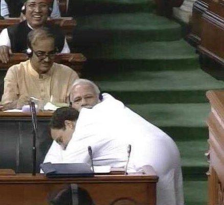 #RahulHugsModi - Social Media Reacts for Rahul Gandhi