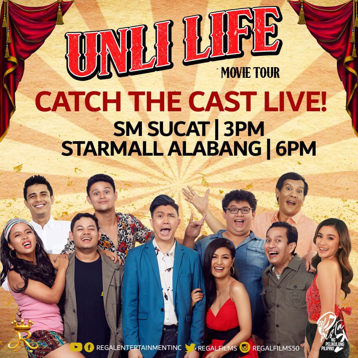 Regal Films On Twitter Catch The Cast Of Unli Life Tomorrow At Sm