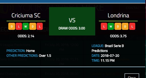 Up next 🕛 Criciuma SC 🆚Londrina | Brazil Serie B