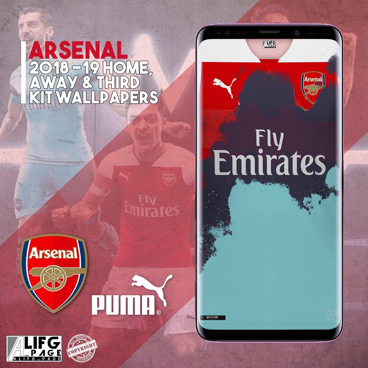 Ali Hajian On Twitter At Arsenal 2018 19 Home Away Third Kit