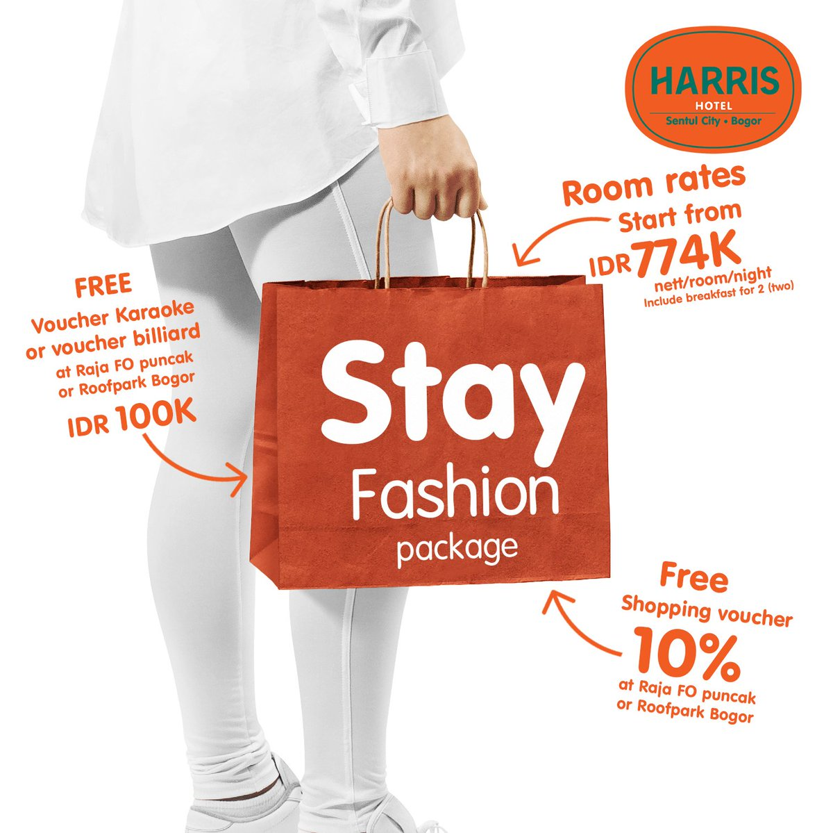 Harris Sentul City Harrissentul Twitter Chic Classic Wedding Ring Cincin Kawin Tunangan Pernikahan 2 And Raja Factory Outlet Gives You Ultimate Experience With Stayfashion Package Start From Idr 774000 Nett Night