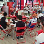 Image for the Tweet beginning: #wheeliewednesday debrief #forzaDucati @DucatiMotor
