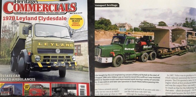 Check out this old Nuttall plant in Heritage Commercials magazine, back when we were Edmund Nuttall! #FlashbackFriday Photo