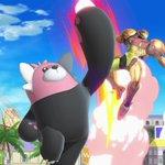 """Bewear is gevaarlijker dan het oog doet geloven. Bewear is traag, maar ontzettend sterk! Pas op als deze """"troetelbeer"""" uit een Poké Ball springt in Super #SmashBros Ultimate!"""