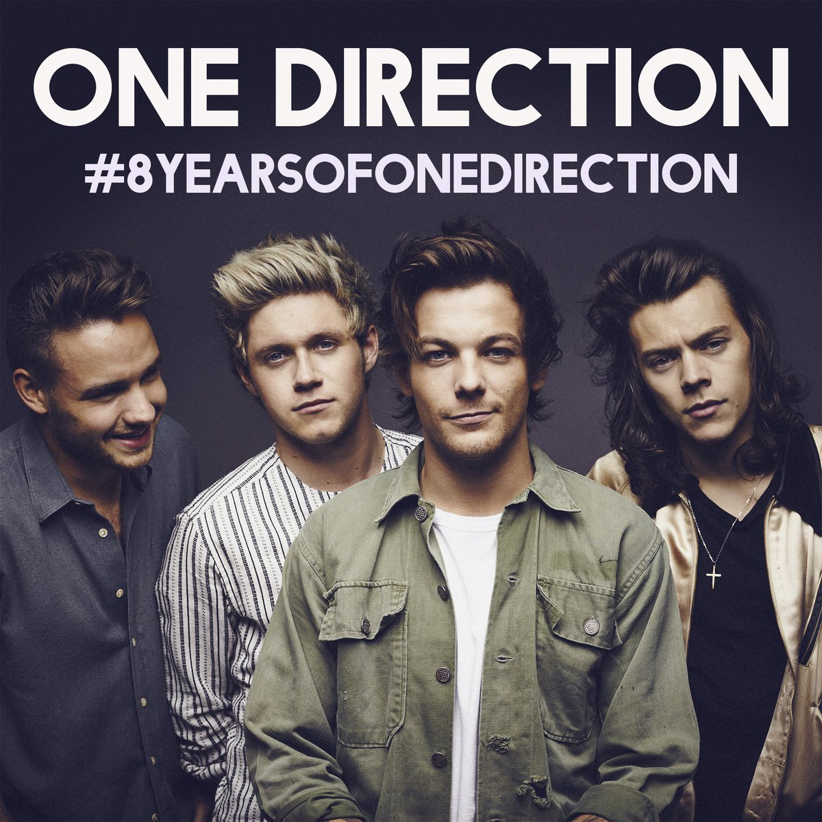 A whole lotta history... this Monday is an important anniversary for the guys, it's been #8YearsofOneDirection To celebrate, its time to relive all the hits this weekend by streaming the official playlist and tweeting which tracks you are listening to smarturl.it/1DOfficialPlay…