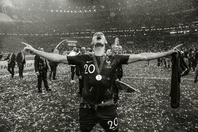 Marseille hero ✔️ World Cup winner 🏆 Florian Thauvin 🔵⚪ #UEL Photo