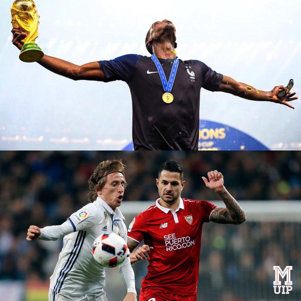 Which Midfielder better pass? Retweet for Paul Pogba 🇫🇷 Like for Luka Modric 🇭🇷 #mufc #FantasyPremierLeague #FantasyFootball