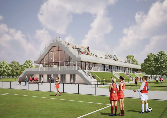 Nieuw Sportcomplex Olympia gevestigd op Varkenoord https://t.co/7aqRzScYSf https://t.co/mw5uaXqMjO