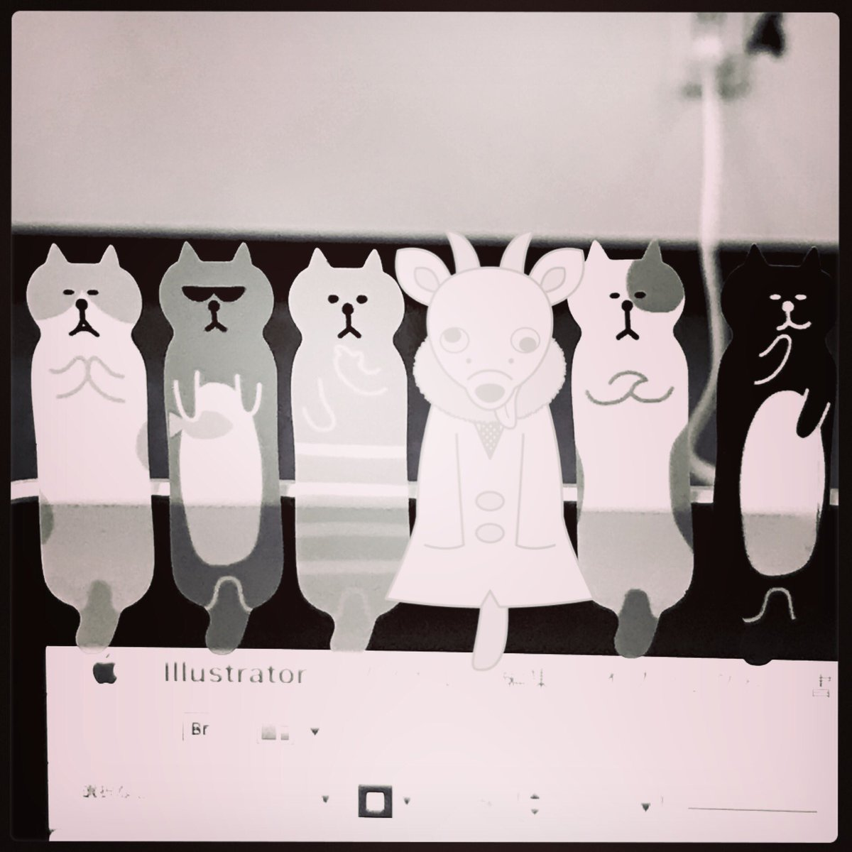 test ツイッターメディア - #キャンドゥ でかわいい付箋みつけたよぉ? 僕も付箋に混ざってみたんだけど、 うんうん、僕ってきっと付箋になっても可愛いよねぇ?? #ゆるキャラ #オリジナルキャラクター  #絵描きさんと繋がりたい #イラスト好きな人と繋がりたい https://t.co/7ycjjji7w9