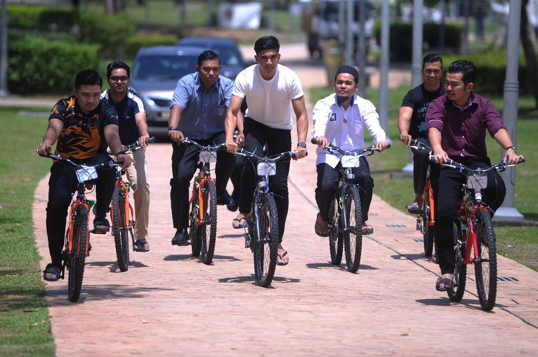 Image result for syed saddiq naik basikal