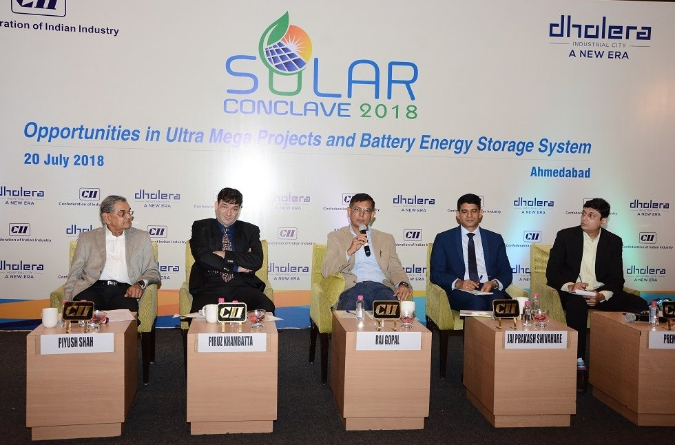 'RFP for 1000 MW first phase of Dholera Solar Park project to be out in a month period'