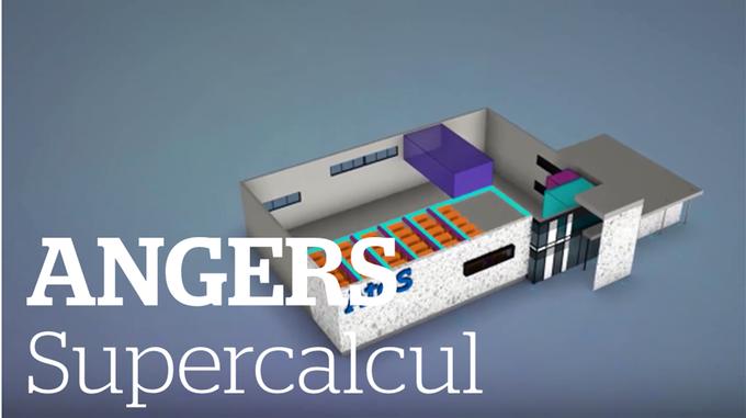 Atos pose la première pierre de son Centre mondial d'essais des #Supercalculateurs à @Angers...