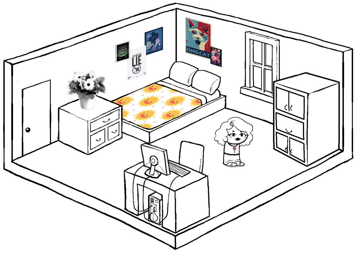 Описание комнаты на английском в картинках