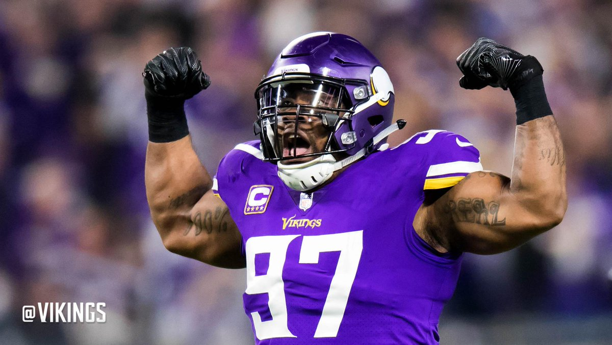 .@AdamSchein lists @EversonGriffen as one of the most indispensable defenders in the NFL. 📰: mnvkn.gs/ShUQ9l