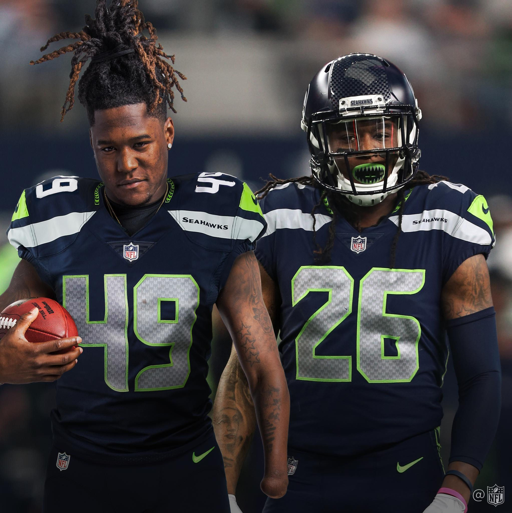 HAPPY BIRTHDAY to @Seahawks teammates and twins @ShaquillG and @Shaquemgriffin! ������ https://t.co/efJQ0nTz5o
