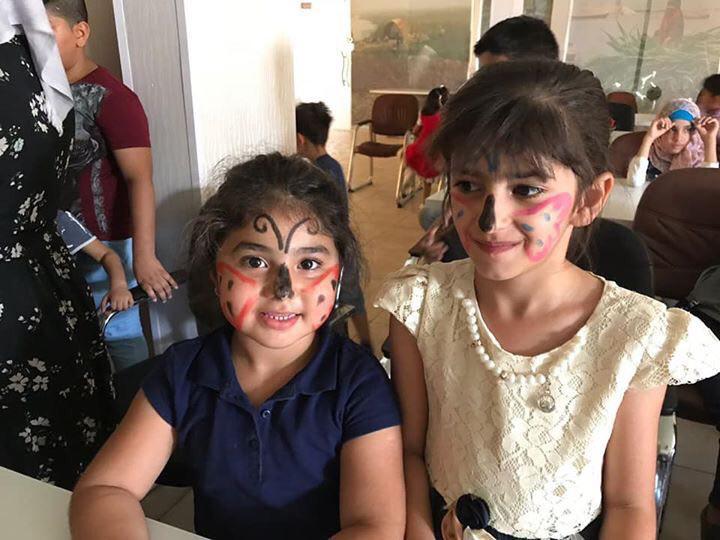 test Twitter Media - Children have been enjoying creative summer courses at AMAR schools in #Iraq this week #education #creativity #butterflies https://t.co/1dost2D746
